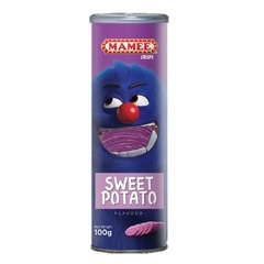 Чипсы Mamee со вкусом пурпурного картофеля 100 гр