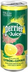 Газированный напиток Perrier Лимон Гуава 250мл