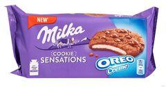 Milka Sensations Cookies Oreo creme 156гр