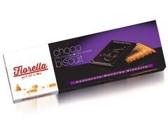 Fiorella Печенье в темном шоколаде 102г