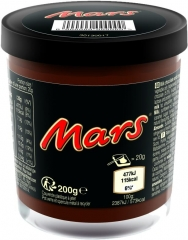 Шоколадная паста Mars 200гр