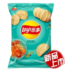 Чипсы Lay's со вкусом жареного краба 70 гр