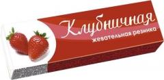 PLASTINKI жевательная резинка Клубничная 12.5 гр