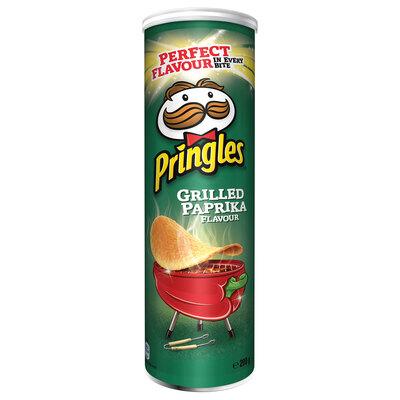 Чипсы Pringles Grilled Paprika (Принглс Паприка) 200гр