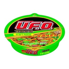 """Жареная лапша """"U.F.O"""" со вкусом говядины в устричном соусе 123 гр"""