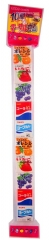 MARUKAWA Жевательная резинка лента ассорти из 5 вкусов пакет 50г