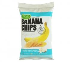 Банановые Чипсы Everything Banana с Обжаренным чесноком 80гр