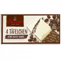 Молочный шоколад Sarotti Mini с кофе и белым шоколадом 100 гр