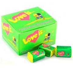 Жевательная резинка Love is (яблоко-лимон)