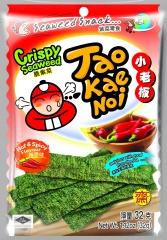 TAOKAENOI Crispy Seaweed (Hot&Spicy Flavour) 32g