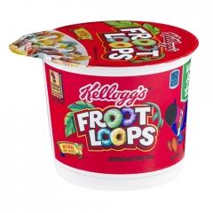 KELLOGG'S FROOT LOOPS Сухой завтрак с маршмеллоу в чашке 42гр
