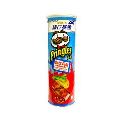 Чипсы Pringles со вкусом коктейля Кровавая Мерри 110 гр