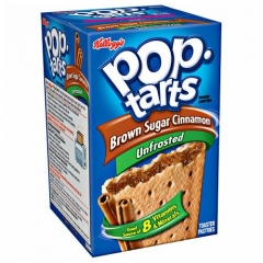 Печенье Pop Tarts 8 PS Unfrosted Brown Sugar Cinnamon 397 грамм