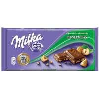 Шоколад milka hazelnuts 100g