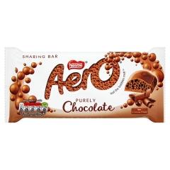 Nestle Aero Milk Chocolate 90g