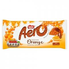 Nestle Aero Orange Chocolate 90g