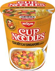 Лапша Cup Noodles Сингапурский Краб Чили (Singapore Chilli Crab) 71гр
