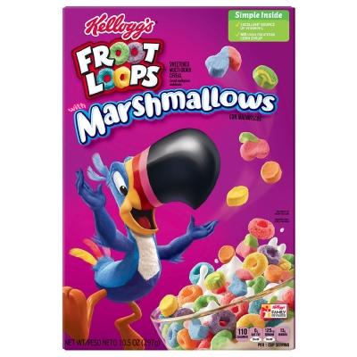 Kelloggs Froot Loops Marshmallow 297 гр