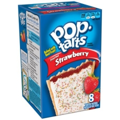 Печенье Pop Tarts 8 PS Frosted Strawberry 416 грамм