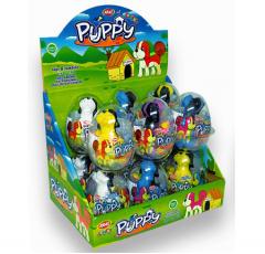 """Яйца с карамелью и игрушкой """"PUPPY"""" (щенки) 6гр"""