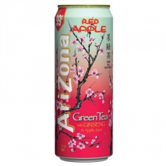 Напиток Arizona Red Apple Green Tea 0,68л