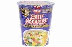 Лапша Cup Noodles Японские Морепродукты (Japanese Seafood) 67гр