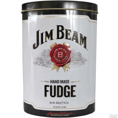 Конфеты Jim Beam Hand Made Fudge 300g