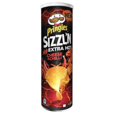 Чипсы Pringles Flame Сыр и Соус Чили 160гр