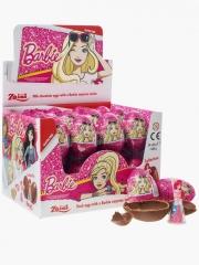 """Шоколадное яйцо с сюрпризом """"Барби"""" 20гр"""