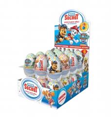 Mega Secret Шоколадное яйцо с игрушкой Щенячий Патруль  20гр