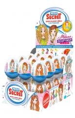 Mega Secret шоколадное яйцо с игрушкой Модные Подружки 20гр