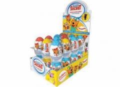 Mega Secret Шоколадное яйцо с игрушкой Три Кота 20гр