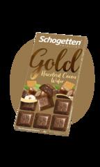 "Schogetten Hazelnut Cocoa Wafer ""с фундуком и вафлей"" 100гр"
