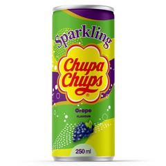 Напиток газированный Chupa Chups Sparkling Grape (Виноград) 250мл