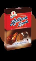 Конфеты Halloren Schoko-Schoko Двойной Шоколад 125г