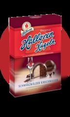 Конфеты Halloren Schwarzwalder Kirschwasser Лесная Вишня 125г