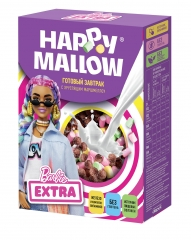Сухой завтрак с маршмеллоу Happy Mallow Barbie 240 гр