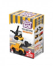 Happy Box Строительная Техника 18гр