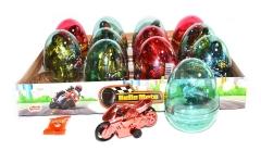 "Яйца с карамелью и игрушкой ""HELLO MOTO"" (мотоциклы) 6гр"