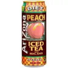 Напиток Arizona Diet Peach Tea 0,68л