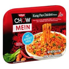 Лапша Chow Mein Nissin с Курицей Кунг Пао ( Kung Pao Chicken) 113гр
