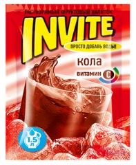 Растворимый напиток Invite Кола 9г