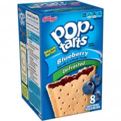 Печенье Pop Tarts 8 PS Unfrosted Blueberry 416 грамм