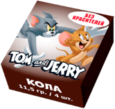 Tom and Jerry конфеты жевательные со вкусом Колы 11,5 гр
