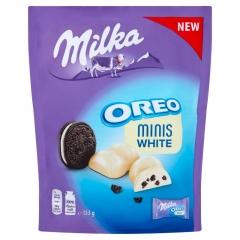 Шоколад Milka Oreo Minis White 153г
