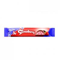 Батончик Milka&Strawberry 36,5 гр