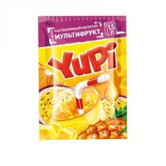 Растворимый напиток YUPI Мультифрукт 15г