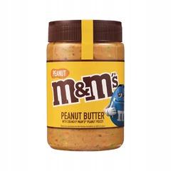 Арахисовая паста M&M`s с хрустящим драже и кусочками арахиса 225 гр