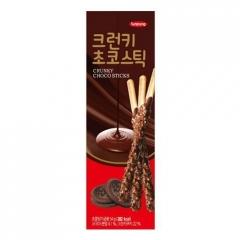 """Sunyoung Crunky Choco Stick """"Шоколадные палочки с крошеной печенькой"""" 54гр"""