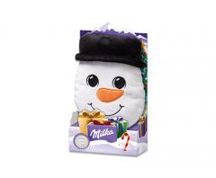 Milka Christmas plush Плюшевая игрушка + Шоколад 98гр